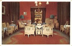 Grand Hotel Preanger Bandoeng, Java, Roode Zaal Postcard