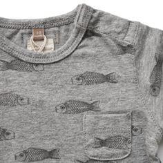 Japanese fish print T-shirt, Lötiekids
