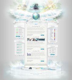 Ataria3 - Webdesign by King--Sora.deviantart.com on @deviantART #webdesign