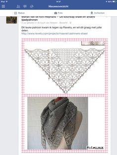 Leuk patroon omslagdoek