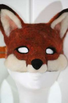 Fox mask, - makes me happy that this is even possible
