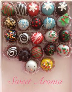 cake pops by sweet aroma :)
