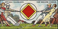 The Square Circle Optical Illusion // Optical Illusions