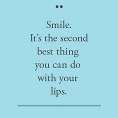 Share a smile with someone today...