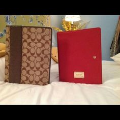MK & Coach iPad covers Both in great condition both pc's. Bags