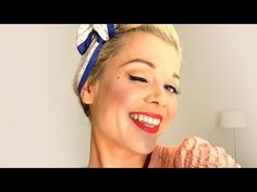 Vintage make-up tutorial - The Classic Pinup