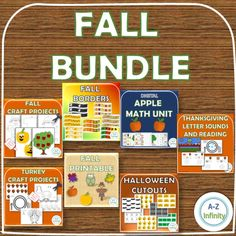 Fall Bundle Thanksgiving Letter, Thanksgiving Stories, Bulletin Board Borders, Fall Bulletin Boards, Pumpkin Faces, Cute Pumpkin, Reading Centers, Reading Activities, Historical Concepts