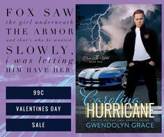 99c V-Day Sale  Indulge in a sexy southern romance this Valentines Day. A story about fate love and the thrills of street racing is bound to get your heart pumping.    Gwendolyn Grace brings you Carolina Hurricane (Drive Me Wild #1) for #99c #OneDayOnly    #oneclick now to start your new adventure.     Amazon: http://ift.tt/2l40Cow   iBooks:http://apple.co/1I02cgF   B&N:http://bit.ly/1xvPIM3   Kobo:http://bit.ly/1I8tEqv   Goodreads:http://bit.ly/1vTwolC    Next in the series:    Carolina…