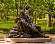 Vietnam Women's Memorial Walking Tour Map Facts Picture