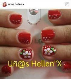 Cute Nails, My Nails, Mani Pedi, Nail Colors, Eyeliner, Nail Designs, Hair Beauty, Make Up, Valentines