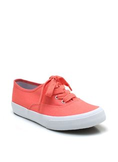 canvas sneakers $18.00
