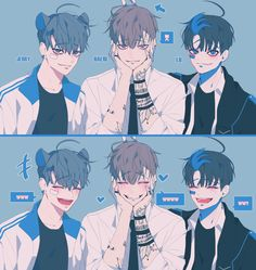 Find images and videos about boy, art and anime on We Heart It - the app to get lost in what you love. Manga Anime, Manga Boy, Anime Art, Korean Anime, Korean Art, Character Inspiration, Character Art, Character Design, Manhwa