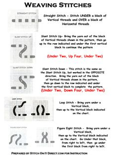 swedish weaving instructions and patterns - WOW.com - Image Results More