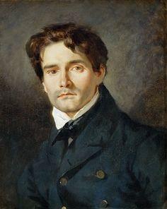 DELACROIX, Eugène French Romantic (1798-1863)_Le peintre Léon Riesener (1808 - 1878) était le cousin de l'artiste 1835