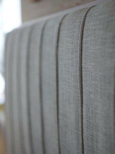 A headboard with a powerful personality, top-stitching that enhances the elegant beauty, like a stylishly tailored suit… // Una testata dalla forte personalità, realizzata con cuciture sartoriali che, come un abito su misura, ne valorizzano la raffinata bellezza.  (Letto matrimoniale / Double Bed Ermes by Flou) #Beds #Bedroom #Letto #InteriorDesign #HomeDecor #Design #Arredamento #Furnishings #totalwhite #inspire #totalwhite