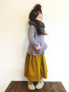 CHIIIICOさんのコーディネート Sewing For Kids, Kids And Parenting, Cute Babies, Kids Outfits, Girl Fashion, Hipster, Children Clothes, Girl Stuff, My Style