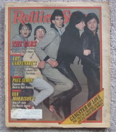 Classic Rolling Stone Magazine Covers | Rolling Stone Magazine -The Cars