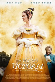 The Young Victoria - Starring, Emily Blunt, and Rupert Friend The Young Victoria, Victoria And Albert, Queen Victoria, Best Period Dramas, Period Movies, Victoria Movie, Rupert Friend, Image Film, Total Recall