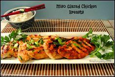 Miso Glazed Chicken Breasts Recipe