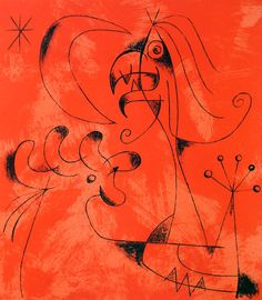 Miró 1956: Lthographs for Jacques Prevert's Joan Miro