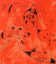 Miró 1956: Lthographs for Jacques Prevert's Joan Miro
