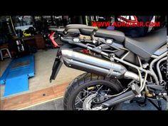 SW-Motech 12-14 Triumph STR-Triple Handlebar Risers 20mm Silver