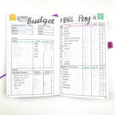 bullet journal budget finance These 11 Bullet Journal Ideas Are So Creative! Total life changers for anyone who gardens, wants to get organized, or wants a new creative outlet!