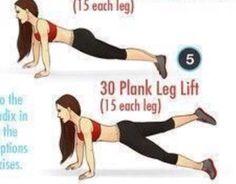 Plank Leg Lift