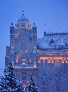 Gresham Palace. Budapest, Hungary.