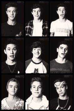 Magcon Boys. Thanks @Nathan Mallonee Mallonee Mallonee Santos Biendara for continually talking about them and getting me stuck on them. ♡