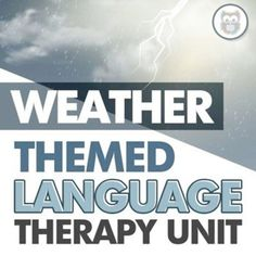 Looking for a fun way to shake up your language therapy lessons in speech therapy? This themed language therapy unit includes a wide variety of materials and resources for your students with language goals using a relatable and engaging WEATHER theme! this resource targets core vocabulary, basic concepts, describing, affixes, and more! Receptive Language, Speech And Language, Speech Therapy Activities, Language Activities, Figurative Language Activity, Shake, Vocabulary, Core, Students