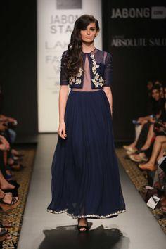 Lakme Fashion Week Winter/Festive 2014 : Ridhi Mehra