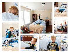 Milestone Photos: Big Boy Batman Bed | Huntersville, NC Child Photographer