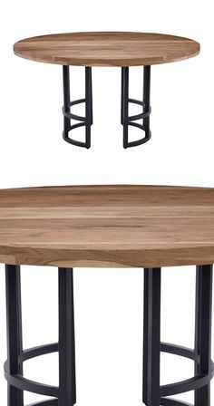 Your taste leans toward elegantly simple, and while modern is definitely a plus, you're drawn to an earthy, natural motif. Perfect solution: choose the Skylar Round Dining Table as a fresh alternative ...  Find the Skylar Round Dining Table, as seen in the When Industrial Took Flight Collection at http://dotandbo.com/collections/when-industrial-took-flight?utm_source=pinterest&utm_medium=organic&db_sku=124418