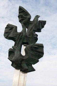 Szczecin Eagle Sculpture