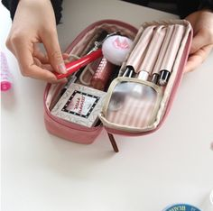 This is really cute for work or travel! Simple Multi Pouch