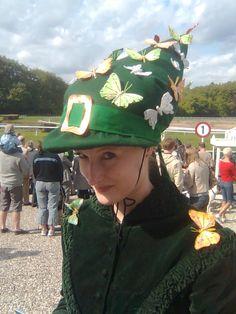 Sommerfuglhat Hat til galop derby