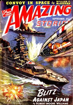 AMAZING STORIES #pulp #art #cover