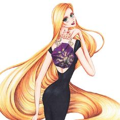Rapunzel (Fashion by Guillermo_Meraz @Instagram) #Tangled