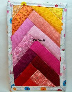 PK Quilted Plate Pad in Color Graduation 1  Pot Holder  by PKStuff, $5.00