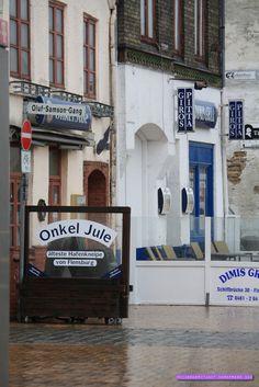 Älteste Hafenkneipe von Flensburg - ostsee. // nikesherztanzt