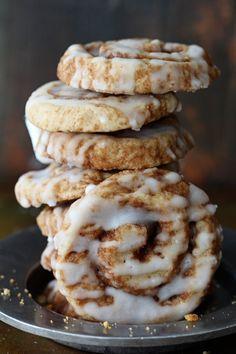 Cinnamon Roll Cookies via Bakers Royale