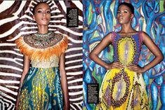 he Role of Custom Design in African Wax Prints