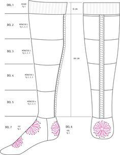 Mysteriestickning: Järbosockan - Järbo Garn AB Knitting Socks, Knitting Ideas, Knit Shoes, Mittens, Sewing, Diy, Xmas Ideas, Knits, Slippers