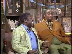 sanford and son jokes | Leroy (Leroy Daniels) and Skillet (Ernest Mayhand) in scene from an ...