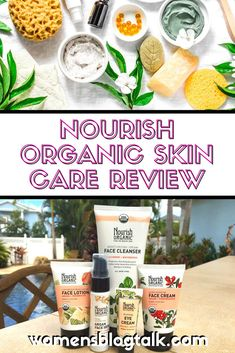 Nourish Organic was the first USDA Certified Organic skin care line. Read about my personal experience using all 5 steps, you will love these products! Organic Skin Care Lines, Natural Skin Care, Natural Facial Cleanser, Facial Cleansers, Best Face Products, Beauty Products, Organic Beauty, Skin Care Tips, Routine