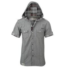 Lee Cooper Lee Cooper Short Sleeve Check Shirt Mens from www.sportsdirect.com