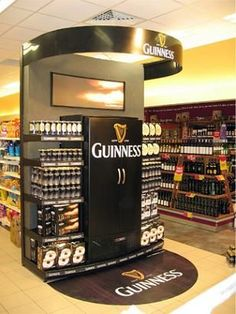 pizza display end cap - Google Search