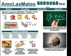 página de matemáticas