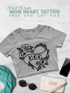 Trend t-Shirt,Frame of Fresh Tulips Fashion Personality Customization